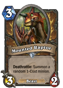 mountedraptor